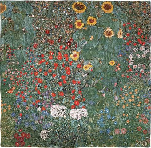 Garden With Sunflowers (Klimt)