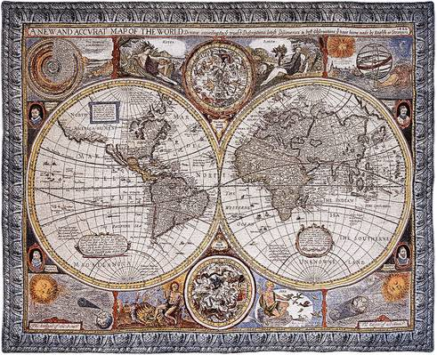 Carte du Monde (Basset & Chiswell)