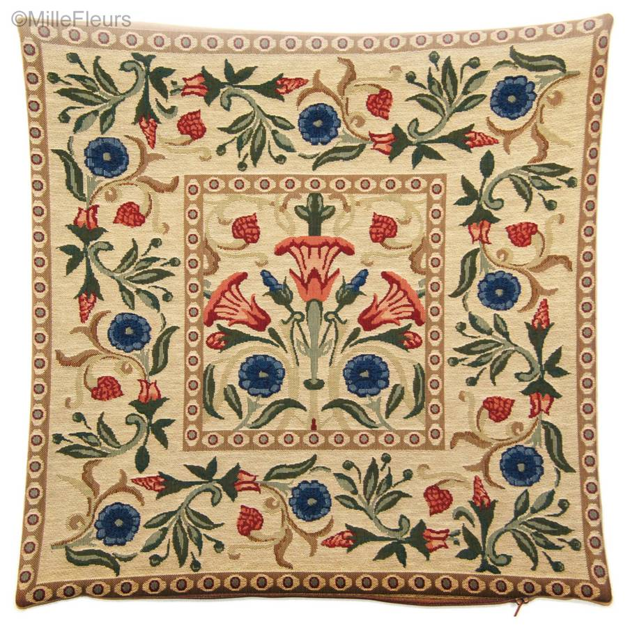 Adornos (William Morris) Fundas de cojín William Morris & Co - Mille Fleurs Tapestries