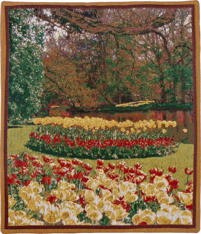 Tulips Wall tapestries Keukenhof - Mille Fleurs Tapestries