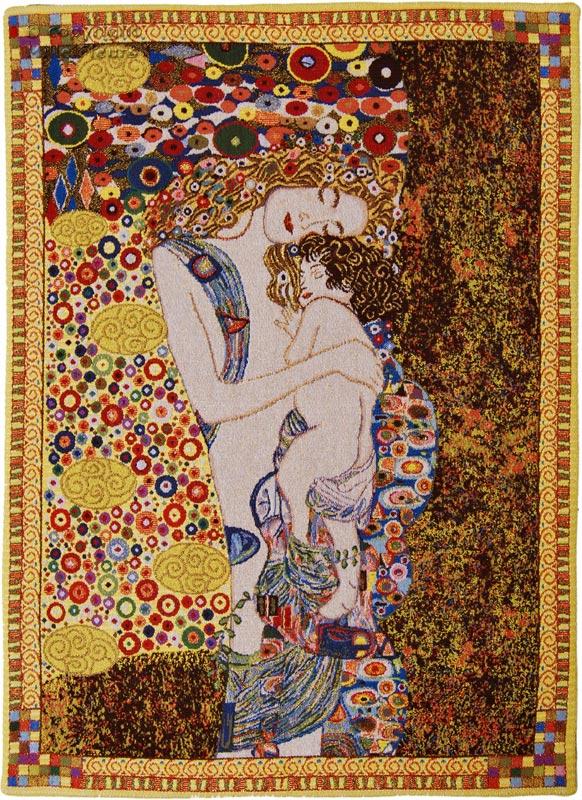 Hedendaags Moeder en Kind (Klimt) - Gustav Klimt - Wandtapijten - Mille ZX-35