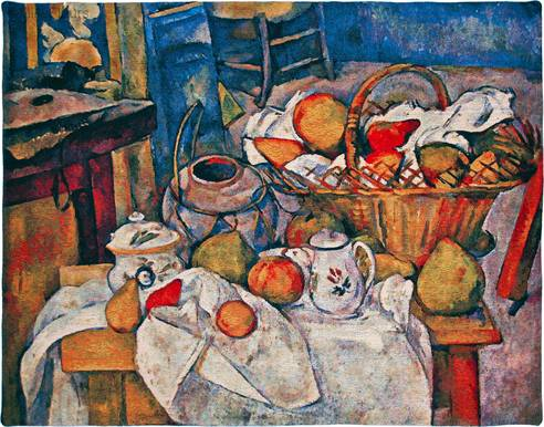 Stilleven met Fruitmand (Cézanne)