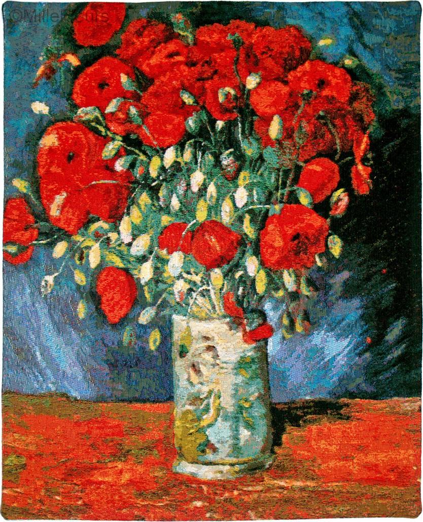 Red Poppies Van Gogh Vincent Van Gogh Wall Tapestries Mille