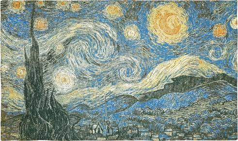 De Sterrennacht (Van Gogh)