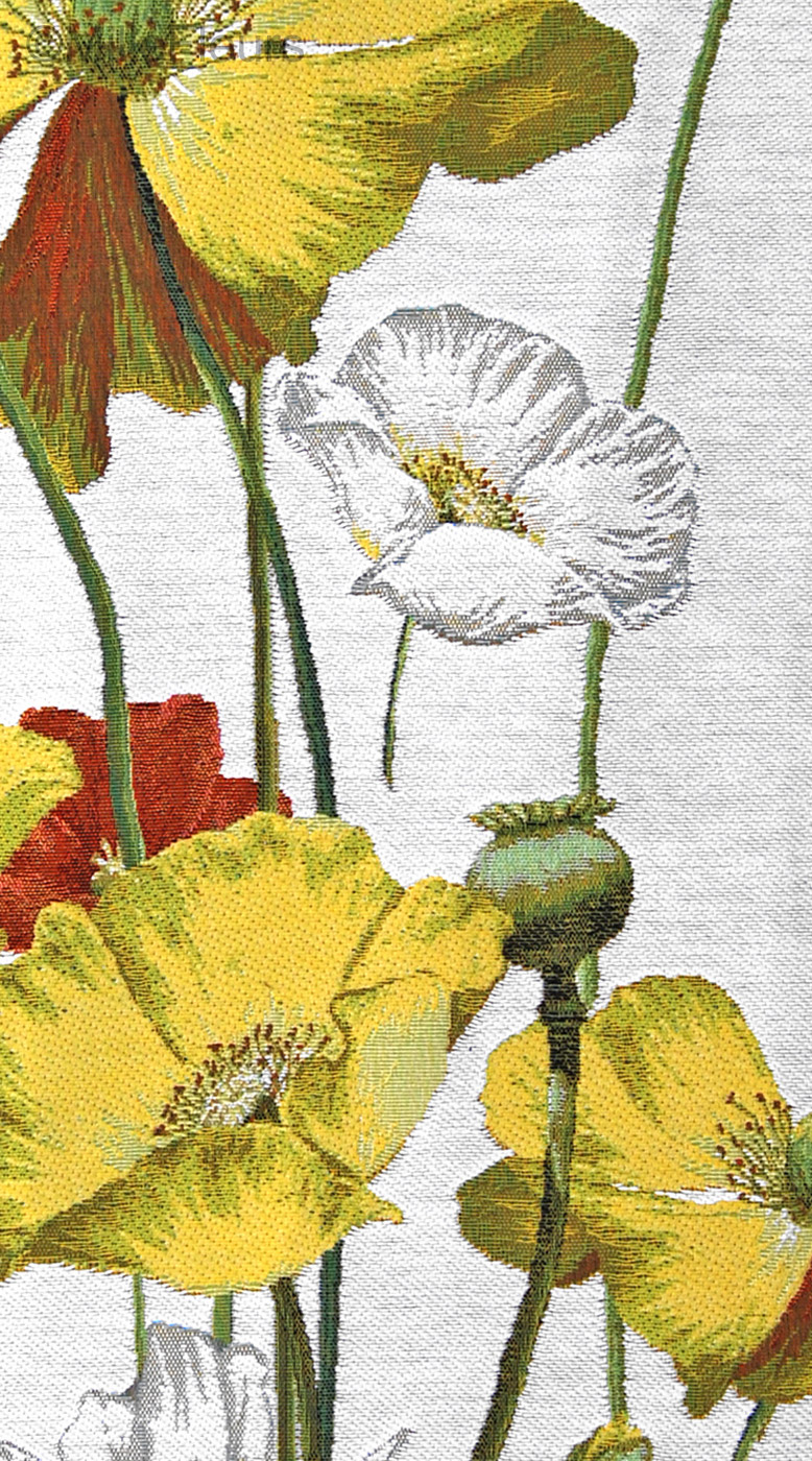 Yellow Poppies Floral And Landscapes Wall Tapestries Mille