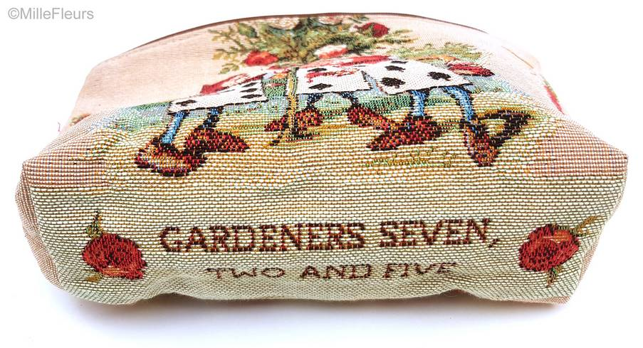 The Gardeners Make-up Bags Alice in Wonderland - Mille Fleurs Tapestries