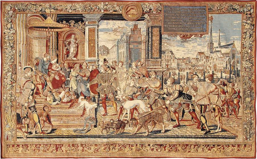 The Hunts of Maximilian Wall tapestries Renaissance - Mille Fleurs Tapestries