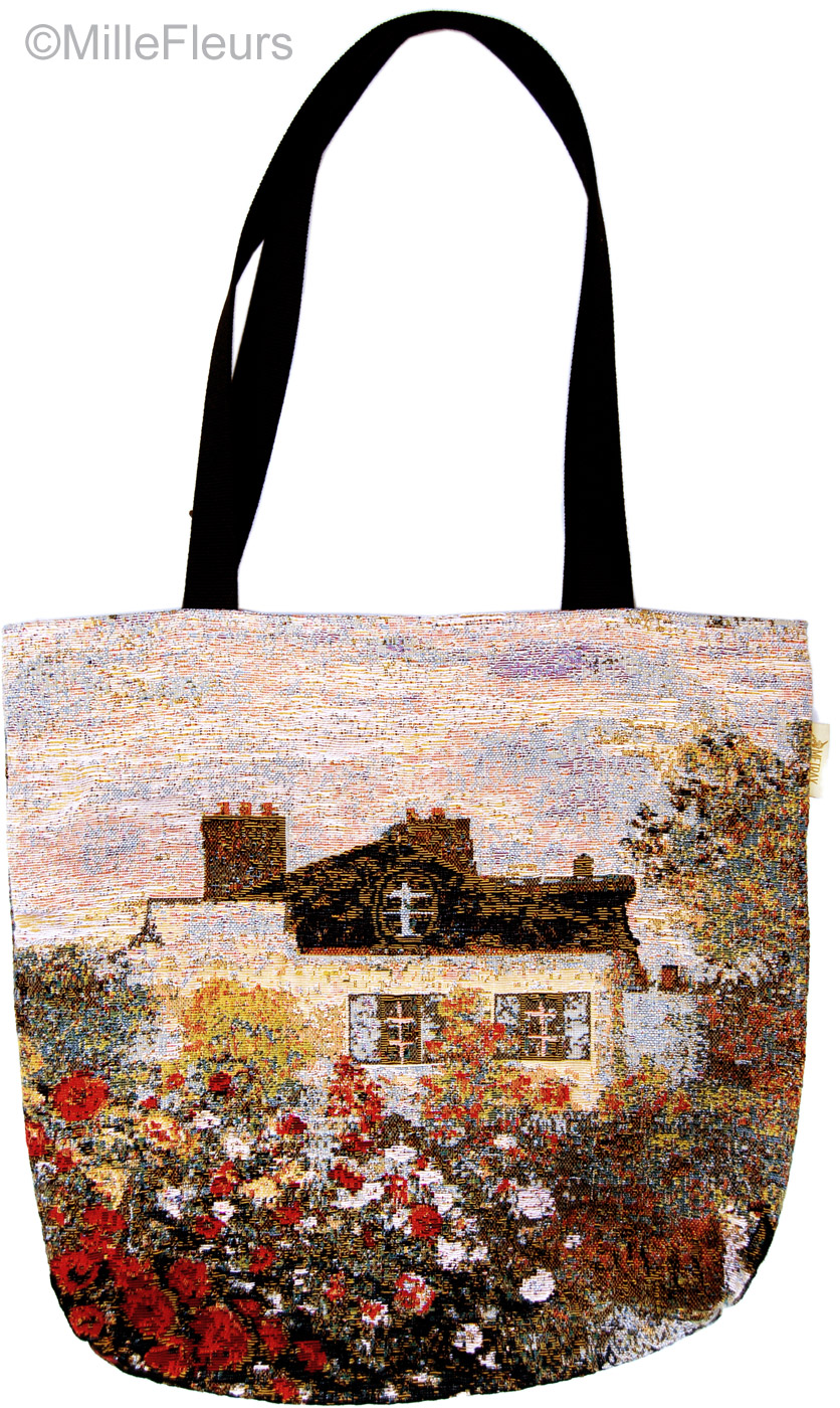 Reusable Shopping Bag Model 1660 Claude Monet Two sides The Houses of Parliament