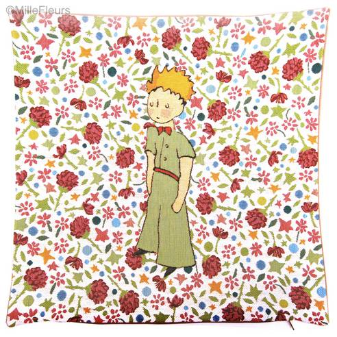 The Little Prince on flowers