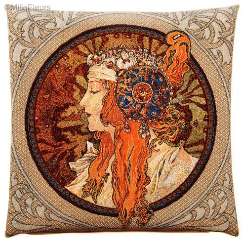 Byzantine Head : Blonde (Mucha)