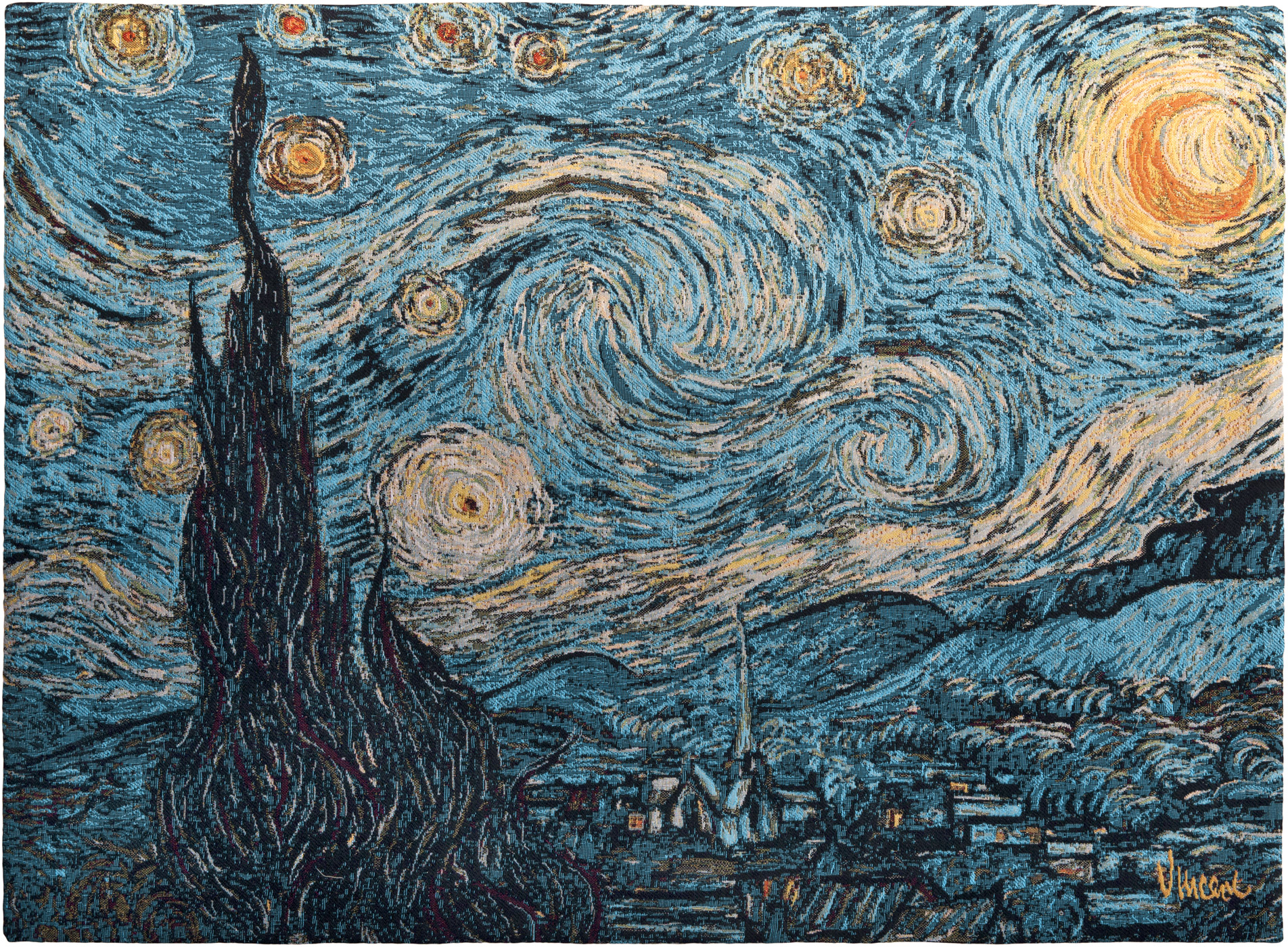 the starry gogh vincent gogh wall