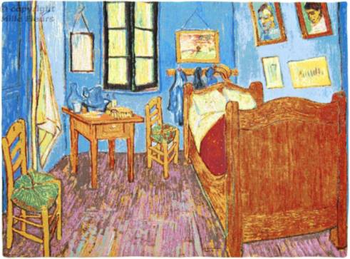 Bedroom in Arles (Van Gogh)